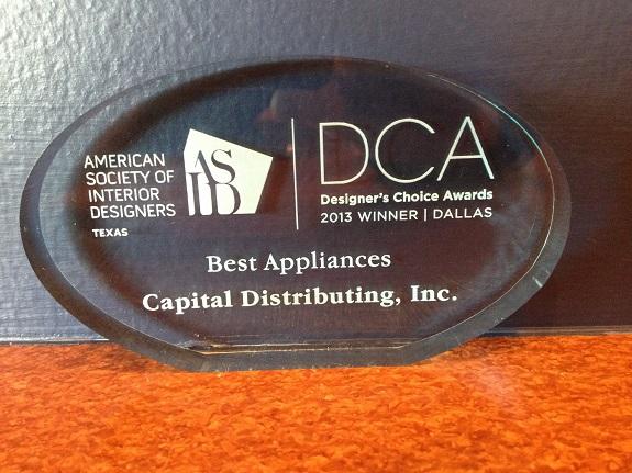 ASID 2013 Best Appliances Award