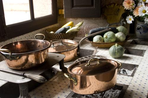 Copper Kitchen Pots