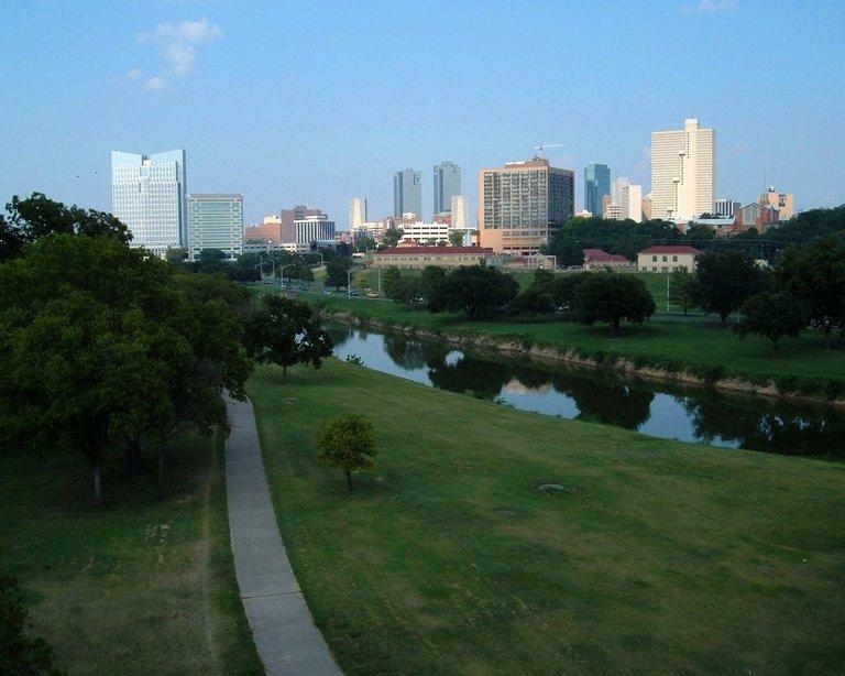 Fort Worth bike trail