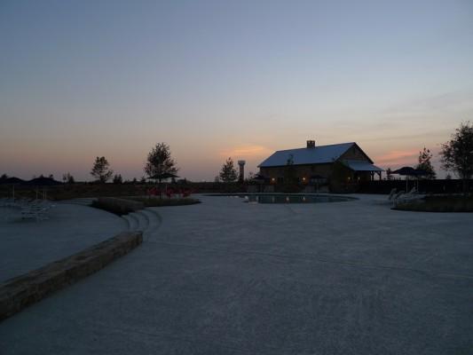 Light Farms sunset