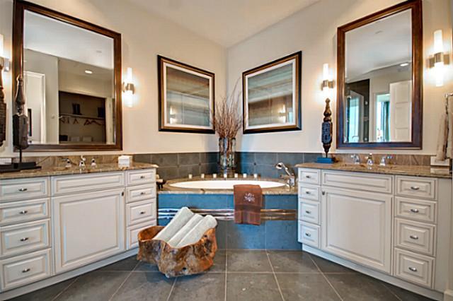 Omni FW residences master bath